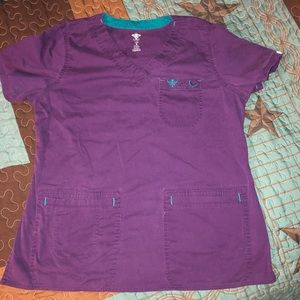 Med Couture Purple TOP only